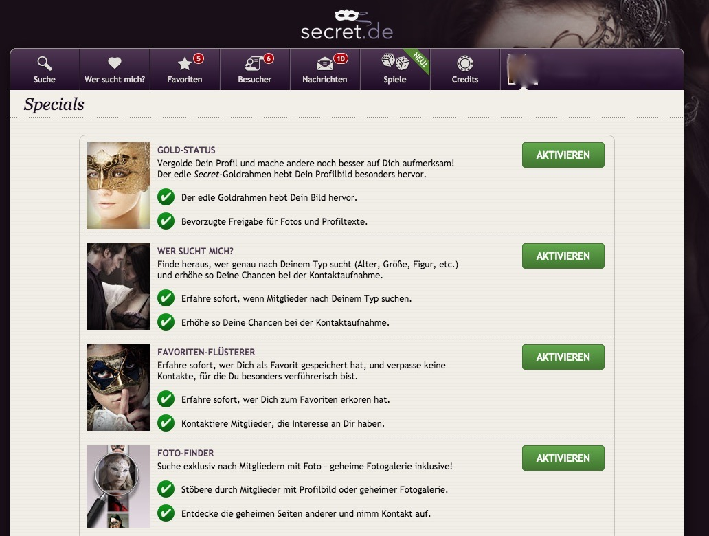 Usa secret dating website